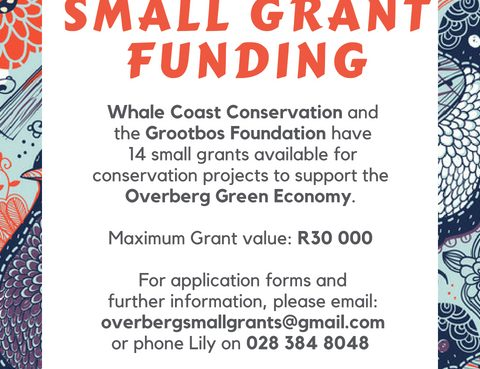 Small Grant Poster 2018